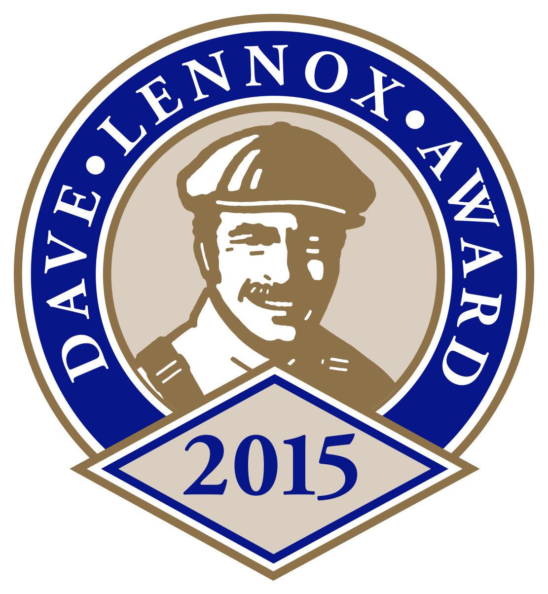 2015 Dave Lennox Award Logo